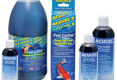 Pond maintenance acurel e pond water care for Pond care supplies