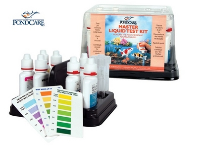 Pond water care master liquid test kit pond maintenance for Pond care supplies