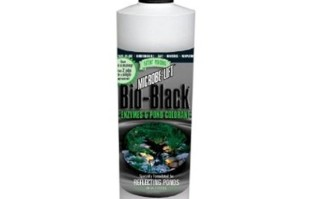 Pond Maintenance: Microbe-lift Bio Black 16oz   Pond Water Care