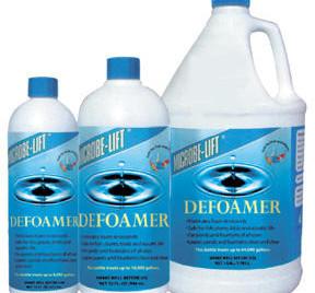 Pond Water Care: Microbe-lift Defoamer - Pond Maintenance