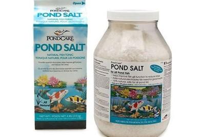 Pond Water Care: Pond Salt - Pond Maintenance