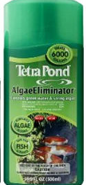 Pond Water Care: Tetra Barley & Peat Extract 16.9 oz - Pond Maintenance