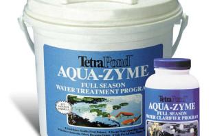 Pond Maintenance: Tetra Sludge Reducer (formerly Aqua-Zyme) | Pond Water Care