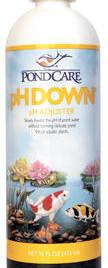 Pond Water Care: pH down - Pond Maintenance