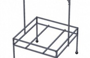 Aquaponics supplies: active aqua 4 x 4 tray table