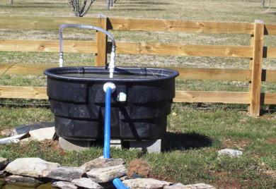 Will a homemade pond filter work?