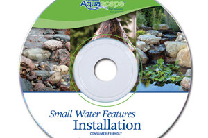 Aquascape Pond Supplies: Small Water Features Installation DVD