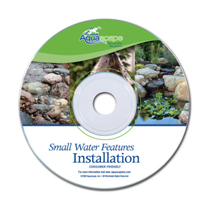 Aquascape Pond Supplies: Small Water Features Installation DVD | Part Number 98179 Learn more about Aquascape Pond Supplies at SunlandWaterGardens.com