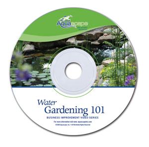 Aquascape Pond Supplies: Water Gardening 101 DVD | Part Number 98181 Learn more about Aquascape Pond Supplies at SunlandWaterGardens.com