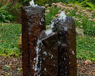 Aquascape 3 Pc Set Natural Mongolian Basalt Decorative Water Features Part Number 58062 Pond Supplies