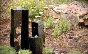 Aquascape 3 Semi-Polished Stone Basalt Columns - Sm 12