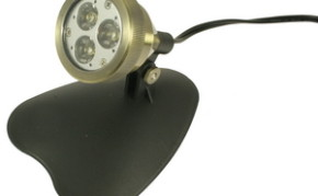 Aquascape 3-Watt 12 Volt LED Spotlight - Architectural Bronze Finish - Pond Lights & Lighting - Part Number: 98927 - Pond Supplies