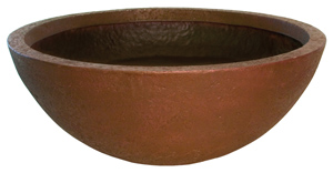 "Aquascape 40"" European Terra Cotta Patio Pond - Planting Containers - Pond Plant Care - Part Number: 98861 - Aquascape Pond Supplies"