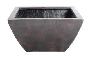 Aquascape 40″ Square Textured Gray Slate Patio Pond – Decorative Water Features – Part Number: 78051 – Pond Supplies