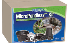 Aquascape 4'x6' MicroPondlessT Waterfall Kit - Pond and Pondless Kits - Part Number: 99769 - Pond Supplies