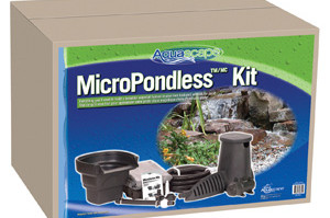 Aquascape 4'x6′ MicroPondlessT Waterfall Kit – Pond and Pondless Kits – Part Number: 99769 – Pond Supplies