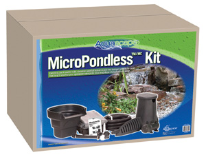 Aquascape 4'x6' MicroPondlessT Waterfall Kit - Pondless Kits - Pond and Pondless Kits - Part Number: 99769 - Aquascape Pond Supplies