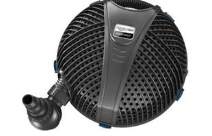Aquascape AquaForce® 5200 Solids Handling Pump – Seasonal Pond Care – Part Number: 91013 – Pond Supplies