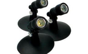 Aquascape Aquascape LED Pond and Landscape Spotlight Kit 3-Watt - Pond Lights & Lighting - Part Number: 84030 - Pond Supplies