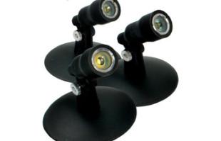 Aquascape Aquascape LED Pond and Landscape Spotlight Kit 3-Watt – Pond Lights & Lighting – Part Number: 84030 – Pond Supplies