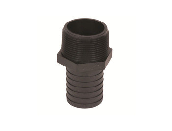 """Aquascape Barbed Male Hose Adapter 1.25"""" to 1"""" - Fittings"""