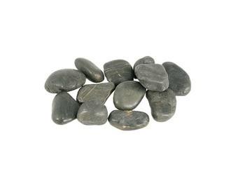 Aquascape Black River Pebbles - 10 kg/22 lbs - Accessories - Decorative Water Features - Part Number: 78160 - Aquascape Pond Supplies