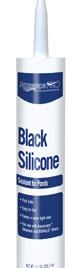 Aquascape Black Silicone - 10.1 Oz - Silicone and Foam - Installation Products - Part Number: 29186 - Aquascape Pond Supplies
