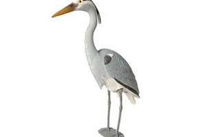 Aquascape Blue Heron Decoy – Predator Control – Part Number: 81030 – Pond Supplies