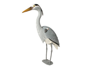 Aquascape Blue Heron Decoy - Decoy - Predator Control - Part Number: 81030 - Aquascape Pond Supplies