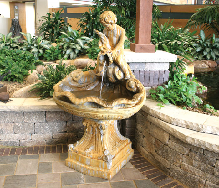 Product categories self contained fountains archive for Ornamental garden features