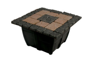 Aquascape Bubbling Formal Mosaic Fountain Kit – Decorative Water Features – Part Number: 58070 – Pond Supplies