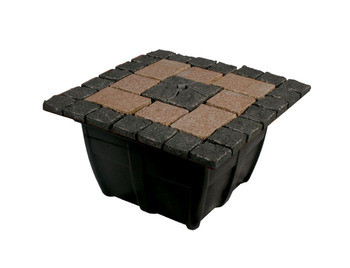 Aquascape Bubbling Formal Mosaic Fountain Kit - Paver Fountain - Decorative Water Features - Part Number: 58070 - Aquascape Pond Supplies