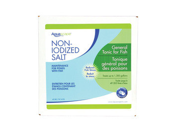 Aquascape Bulk pond salt 40 lb. - Salt - Fish Care & Food - Part Number: 40003 - Aquascape Pond Supplies