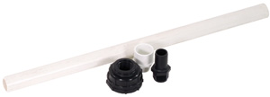 Aquascape Ceramic Bubbler Plumbing Assembly - Ceramic - Decorative Water Features - Part Number: 98202 - Aquascape Pond Supplies