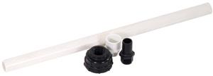 Aquascape Ceramic Bubbler Plumbing Assembly - Ceramic - Decorative Water Features - Part Number: 98202 - Aquascape Pond Supplies