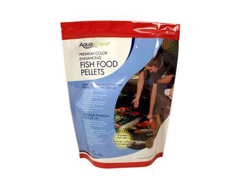 Aquascape Color Enhancing Fish Food Pellets 1kg - Fish Food - Fish Care & Food - Part Number: 98874 - Aquascape Pond Supplies