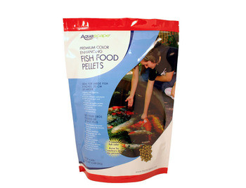 Aquascape Color Enhancing Fish Food Pellets 2kg - Fish Food - Fish Care & Food - Part Number: 98875 - Aquascape Pond Supplies