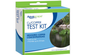 Aquascape Copper Test Kit (25 tests) - Pond Filtration - Part Number: 96020 - Pond Supplies