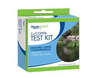 Aquascape Copper Test Kit (25 tests) - IonGen - Pond Filtration - Part Number: 96020 - Aquascape Pond Supplies