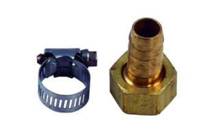 Aquascape Fill Valve Spigot Connector 1/2″ Poly – Installation Products – Part Number: 29517 – Pond Supplies