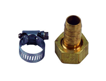"Aquascape Fill Valve Spigot Connector 1/2"" Poly - Water Fill Valves - Installation Products - Part Number: 29517 - Aquascape Pond Supplies"