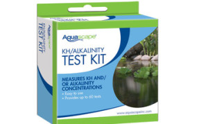 Aquascape KH/Alkalinity Test Kit (60 tests) - Pond Filtration - Part Number: 96019 - Pond Supplies