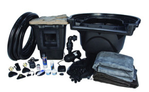 Aquascape Large 21' x 26' Pond Kit w/AquaSurge® PRO 4000-8000 - Pond and Pondless Kits - Part Number: 53010 - Pond Supplies