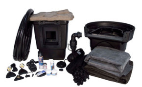 Aquascape Medium 11' x 16' Pond Kit w/AquaSurge® PRO 2000-4000 - Pond and Pondless Kits - Part Number: 53009 - Pond Supplies