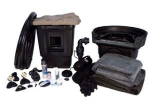 Aquascape Medium 11′ x 16′ Pond Kit w/AquaSurge® PRO 2000-4000 – Pond and Pondless Kits – Part Number: 53009 – Pond Supplies