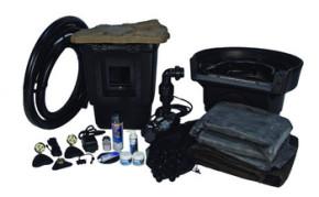 Aquascape Medium 11' x 16' Pond Kit w/Tsurumi 3PL - Pond and Pondless Kits - Part Number: 53000 - Pond Supplies