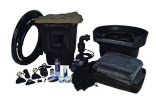 Aquascape Medium 11′ x 16′ Pond Kit w/Tsurumi 3PL – Pond and Pondless Kits – Part Number: 53000 – Pond Supplies