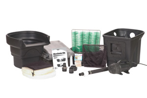 Aquascape MicroPond® Kit 4'x6' (250 Gallons) - Pond and Pondless Kits - Pond Kits - Part Number: 99763 - Aquascape Pond Supplies