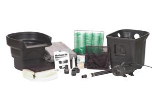 Aquascape MicroPond® Kit 6'x8' (500 Gallons) - Pond and Pondless Kits - Pond Kits - Part Number: 99764 - Aquascape Pond Supplies