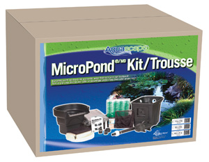 Aquascape micropond kit 8 x11 1000 gallons pond and for Pond kits supplies